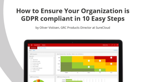 GDPR Compliance in 10 Easy Steps - SureCloud White Paper