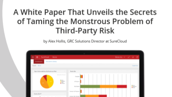 SureCloud's Third-Party Risk Management Software