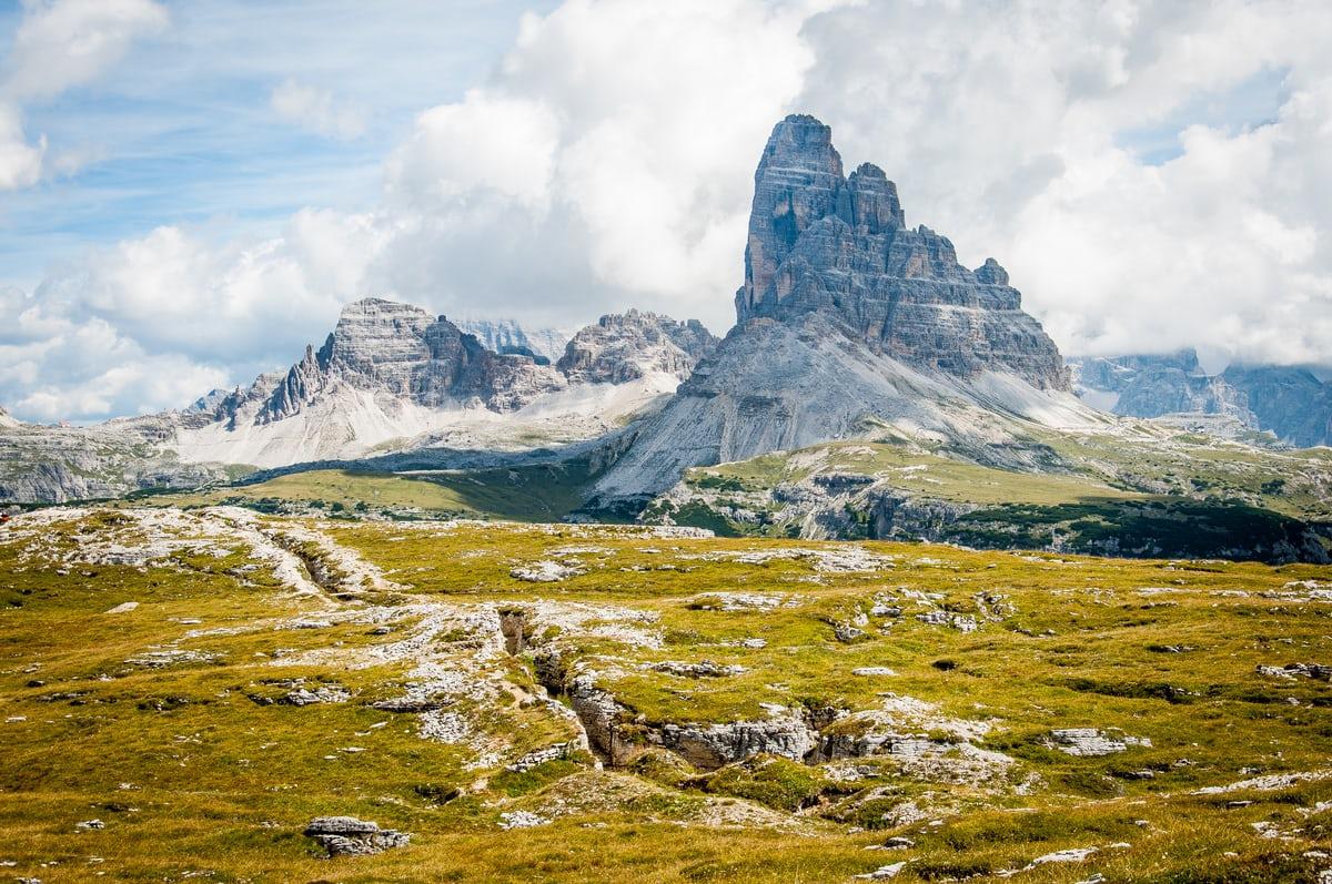 Mountain sky landscape risk